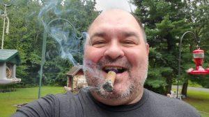 El Guapo with cigar